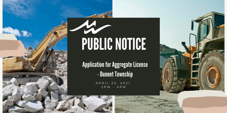 Public Notice - Aggregate License Proposal
